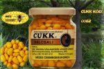 CUKK Sárga csemege kukorica 220 ml-es üvegben (méz)