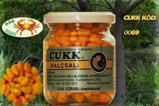 CUKK Narancssárga csemege kukorica 220 ml-es üvegben rák aromával