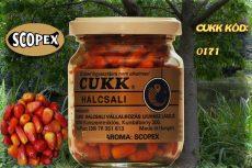 CUKK Barna csemege kukorica 220 ml-es üvegben (scopex)