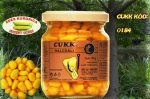 CUKK Sárga csemege kukorica 220 ml-es üvegben, illatos édes