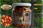 CUKK Világosbarna csemege kukorica (mézeskalács) 220 ml-es üvegben,