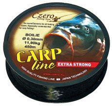 Carp line fekete zsinór 0,20mm 450m