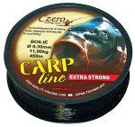 Carp line fekete zsinór 0,30mm 450m
