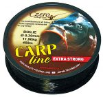 Carp line fekete zsinór 0,35mm 350m