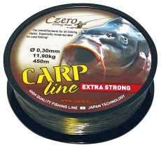 Carp line barna zsinór 0,25mm 450m