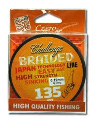 Challenge braided 135 m 0,12 8,00 kg