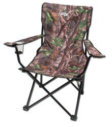 Taurus karfás horgász szék erősített vázzal terepmintás
