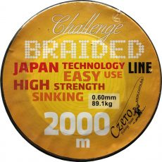 Challenge braided 2000 m 0,20 17,40 kg