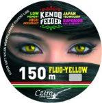 Kendo feeder fluo-yellow 150m 0,25mm 8,80kg