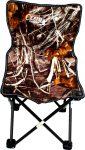 Carina támlás horgász szék kicsi valódi fa mintás