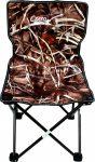 Corvus támlás horgász szék közepes valódi fa mintás