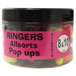 Ringers Allsorts Match Pop-Ups (8mm & 10mm)