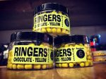 Ringers chocolate yellow wafter 6mm