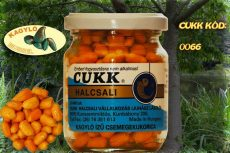 CUKK Világos narancssárga csemege kukorica 220 ml-es üvegben kagyló ízesítéssel