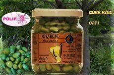 CUKK Világoskék csemege kukorica 220 ml-es üvegben polip aromával