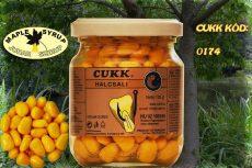 CUKK Sárga csemege kukorica 220 ml-es üvegben juharszirup aromával
