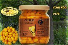 CUKK Sárga csemege kukorica 220 ml-es üvegben, köményes-mézes