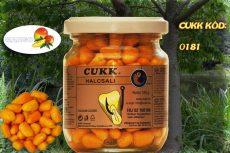 CUKK Narancssárga csemege kukorica 220 ml-es üvegben, mangó ízű