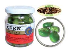 CUKK Ánizs ízesítésű csemege kukorica 220 ml-es üvegben (zöld) GÓLIÁT