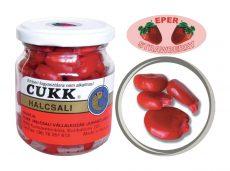CUKK Eper ízesítésű csemege kukorica 220 ml-es üvegben (piros) GÓLIÁT