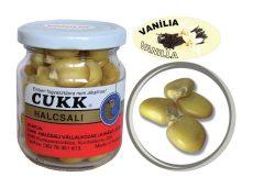 CUKK Vanília ízesítésű csemege kukorica 220 ml-es üvegben (natúr) GÓLIÁT